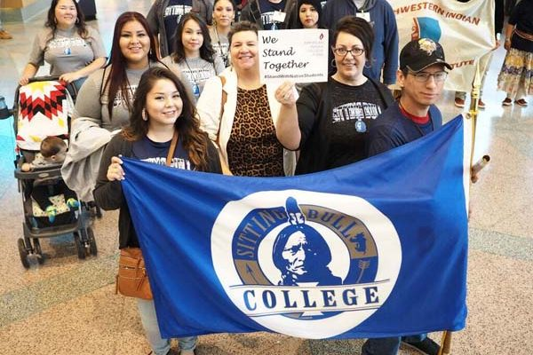 SITTING BULL COLLEGE STUDENTS AT THE 2016 AIHEC STUDENT CONFERENCE