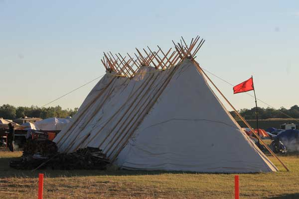 PROTEST CAMPS AT STANDING ROCK ARE TRANQUIL, CLEAN AND ORDERLY