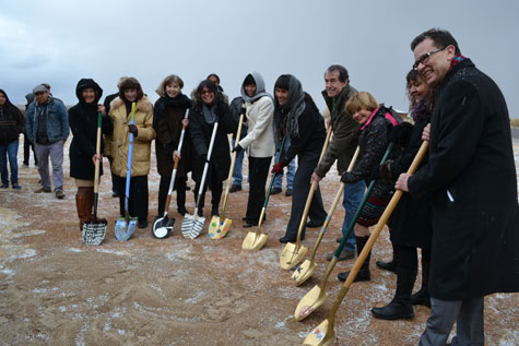 IAIA BREAKS GROUND FOR NEW WELCOME CENTER