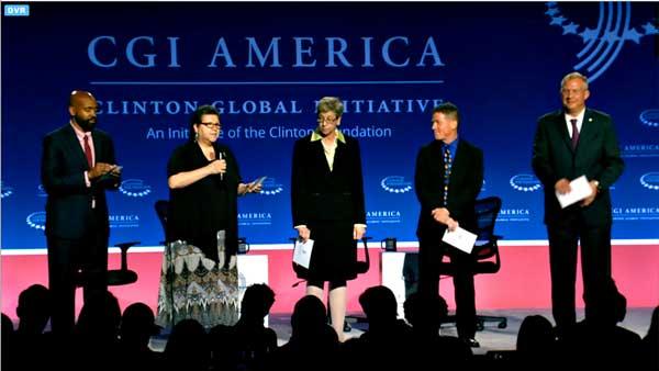 AICF ANNOUNCES CLINTON GLOBAL INITIATIVE AMERICA PARTNERSHIP