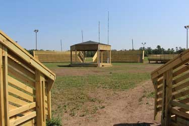 RED LAKE NATION'S NEWLY BUILT POWWOW GROUNDS