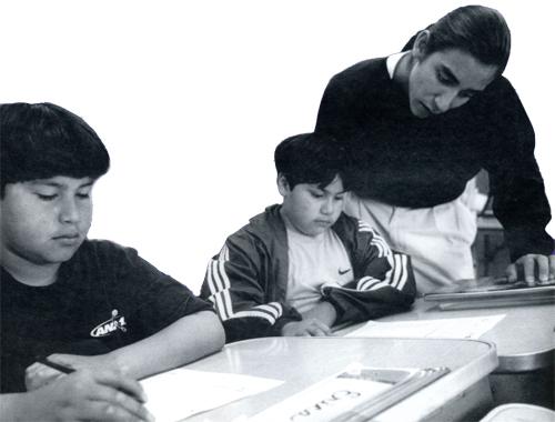 ALLEN DEMARAY, JR. AND STUDENTS