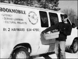 LCO BOOKMOBILE AND VOLUNTEER
