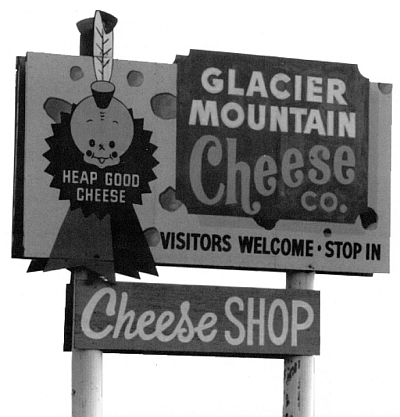 CHEESE SHOP SIGN
