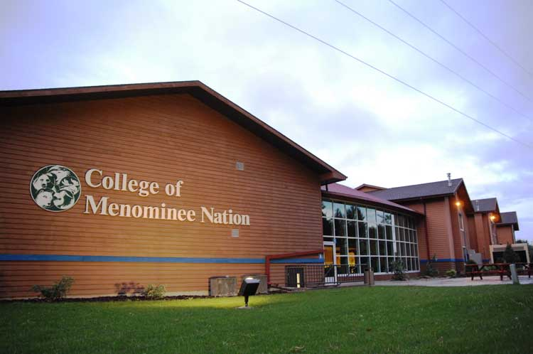 COLLEGE OF MENOMINEE NATION