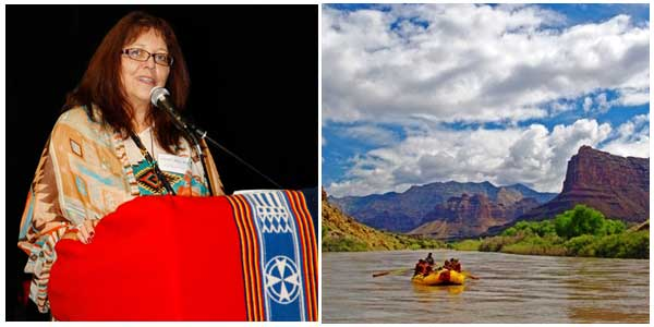 CHERYL CRAZY BULL FEATURED GUEST ON RAFTING RETREAT