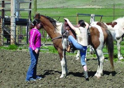 GIRLS IN HORSEMANSHIP PROGRAM