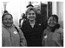 JONES SISTERS WITH FIRST LADY
