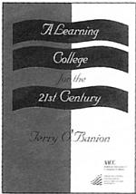 A LEARNING COLLEGE COVER