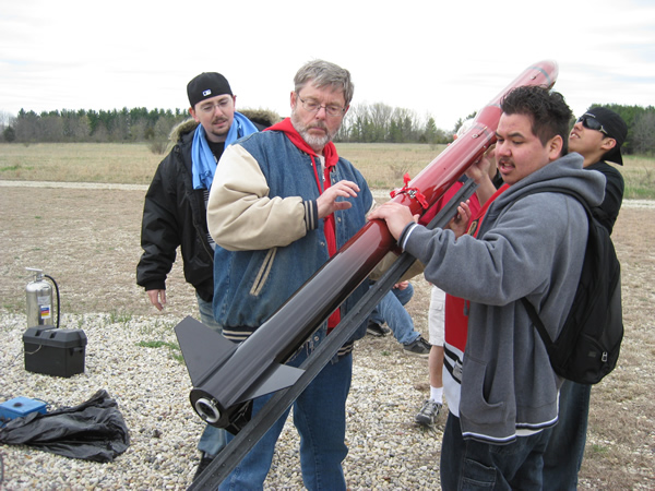 NORTHWEST INDIAN COLLEGE STUDENT ROCKET TEAM