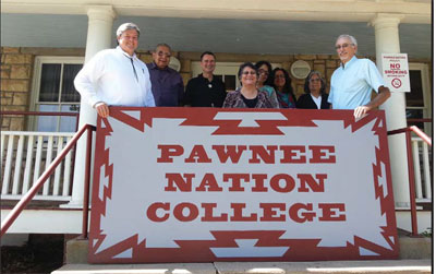 PAWNEE NATION COLLEGE HOPES TO EXPAND AND JOIN AIHEC