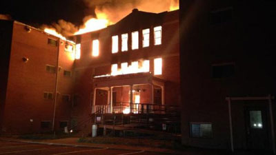 RED CROW COLLEGE DESTROYED BY FIRE