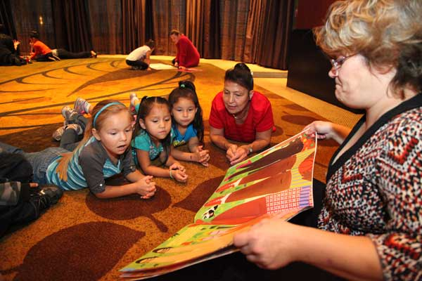 CMN INSTRUCTOR WITH KIDS