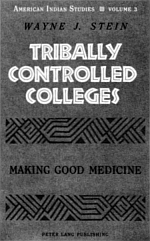 TRIBALLY CONTROLLED COLLEGES