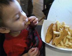CHILDHOOD EATING HABITS ARE DIFFICULT TO OVERCOME