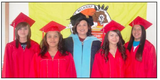 WHITE CLAY LANGUAGE IMMERSION SCHOOL GRADUATES FIRST CLASS