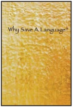 WHY SAVE A LANGUAGE COVER