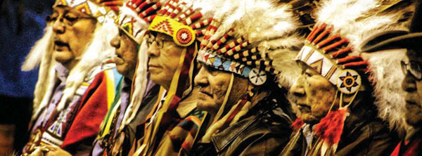 WILMER AND THE CHIEFS BY ARLO IRON CLOUD JR. (LAKOTA)